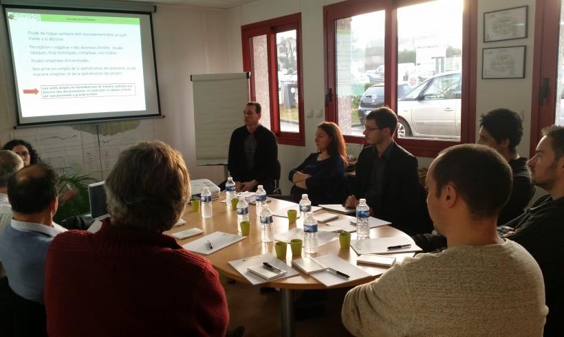 Morning meeting of the 16/12/2015 at Bourgoin-Jallieu